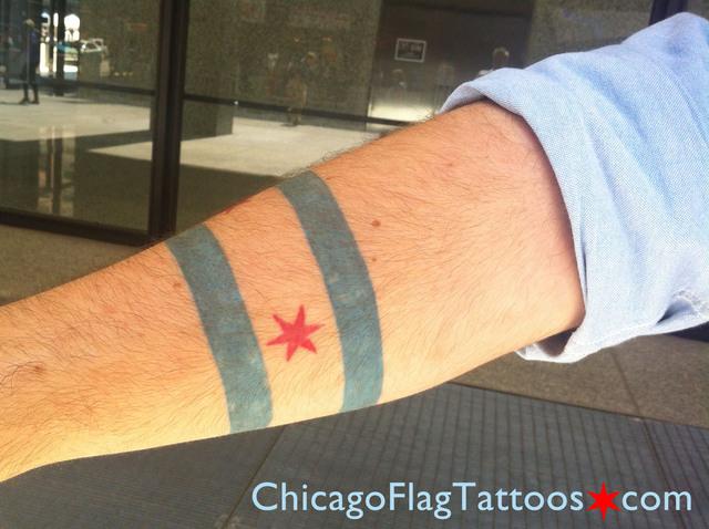 Ben Folgers tattoo