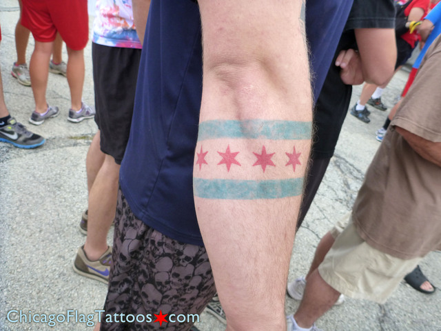 Chicago Flag Tattoos.com