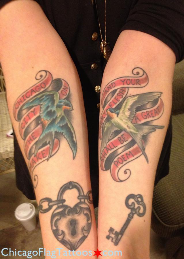 Gwen Tulin Chicago tattoo