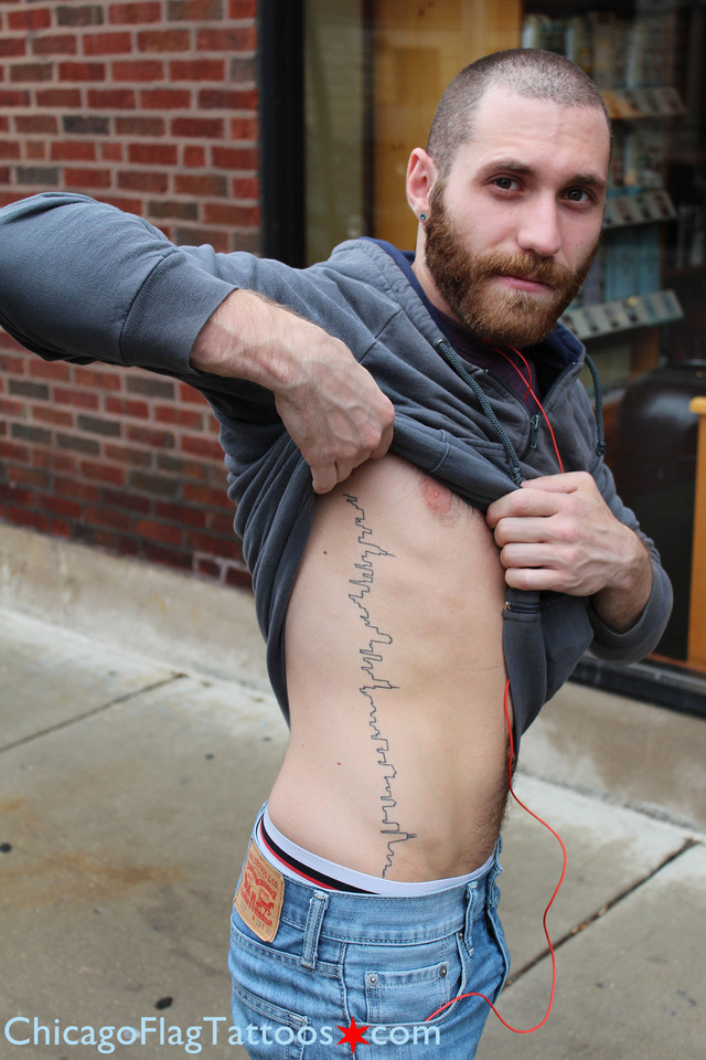 Joe Cocco - Chicago skyline tattoo