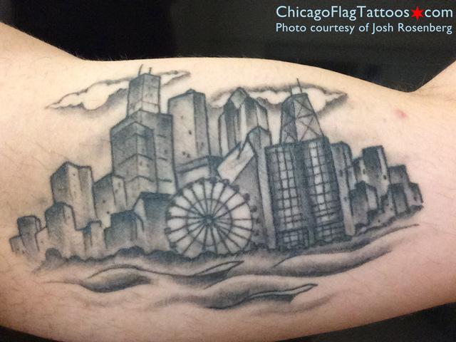 Josh Rosenberg tattoo