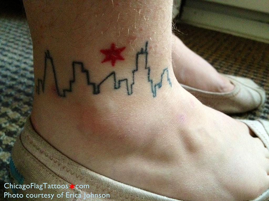 http://chicagoflagtattoos.com/img/ericajohnson-chicagoskylineandstar.jpg
